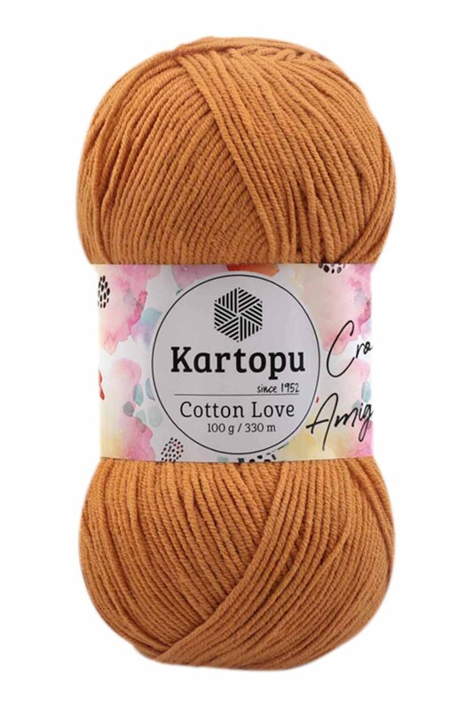 KARTOPU - Kartopu Cotton Love El Örgü İpi 100 gr   K355
