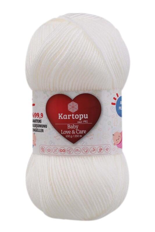KARTOPU - Kartopu Baby Love & Care El Örgü İpi 100 gr.   K010
