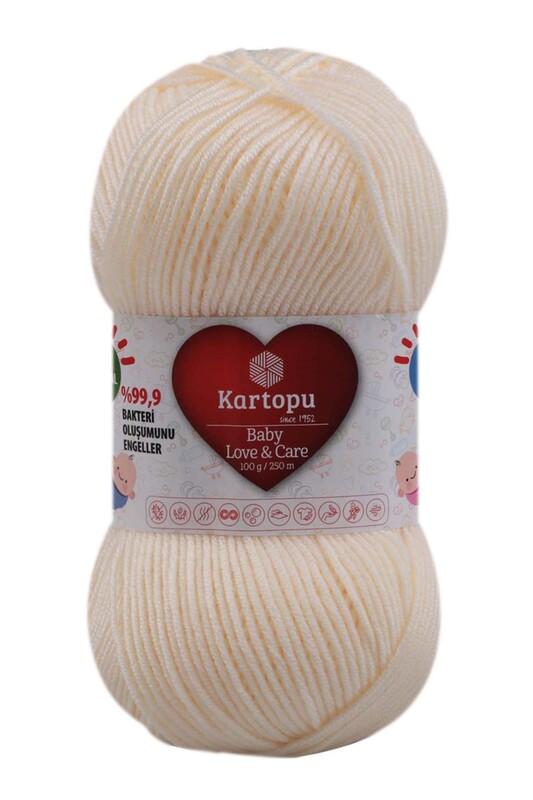 KARTOPU - Kartopu Baby Love & Care El Örgü İpi 100 gr.   K025