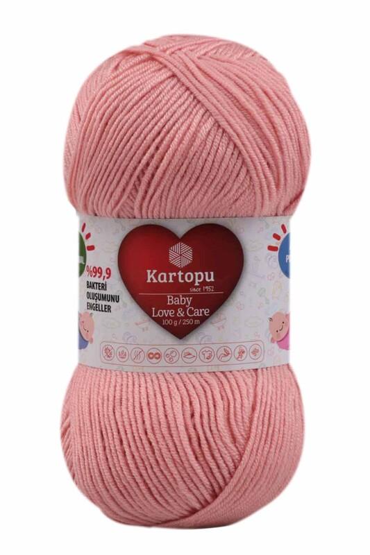 KARTOPU - Kartopu Baby Love & Care El Örgü İpi 100 gr.   K258