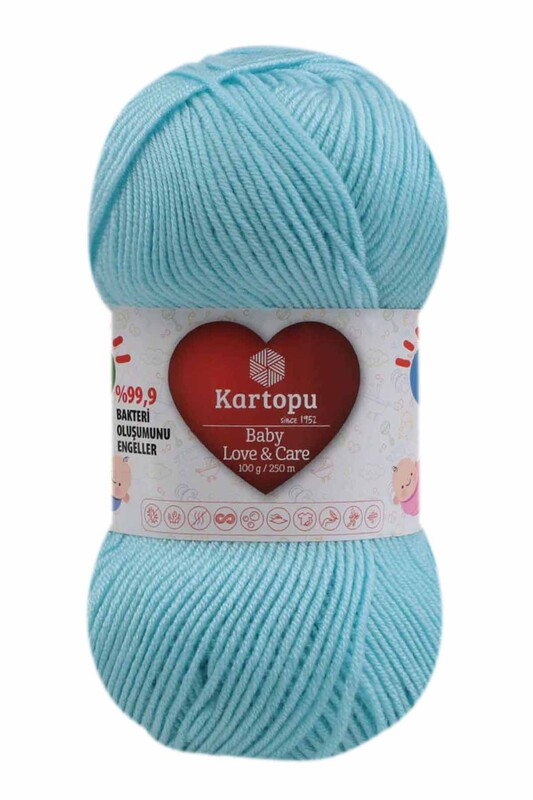 KARTOPU - Kartopu Baby Love & Care El Örgü İpi 100 gr.   K502