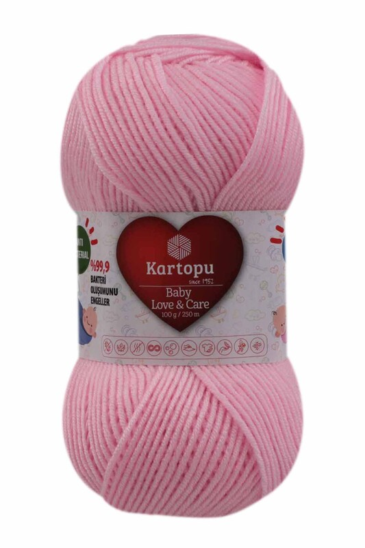 KARTOPU - Kartopu Baby Love & Care El Örgü İpi 100 gr.   K782