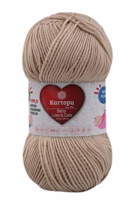 KARTOPU - Kartopu Baby Love & Care El Örgü İpi 100 gr.   K861