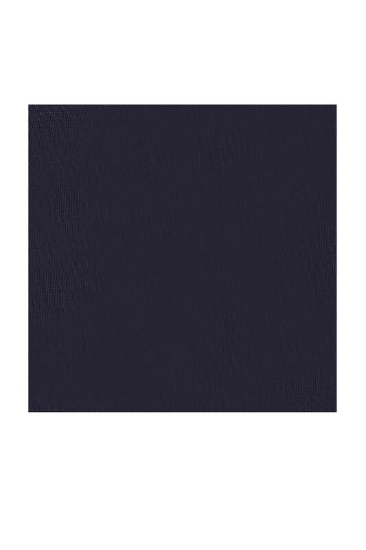 KAŞMİR - Kaşmir Dikişsiz Düz Yazma 100 cm Lacivert 15