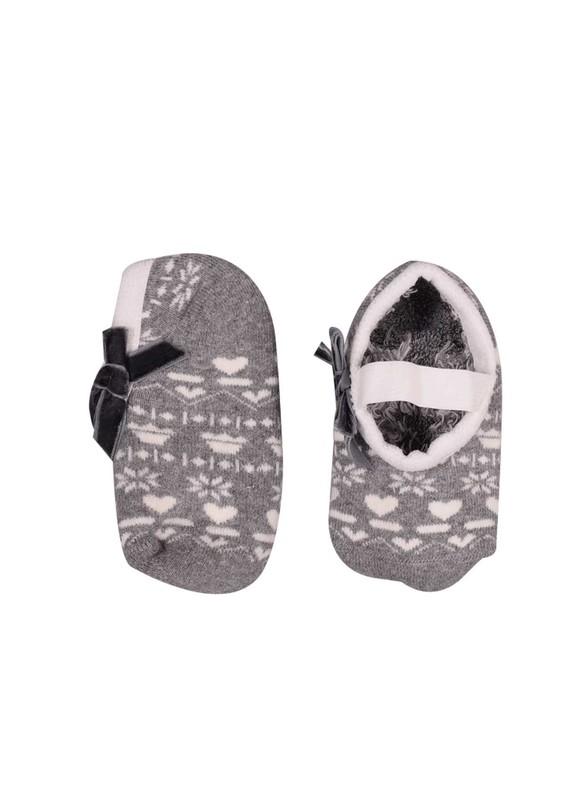 KATAMİNO - Katamino Havlu Patik Çorap 83016 | Gri
