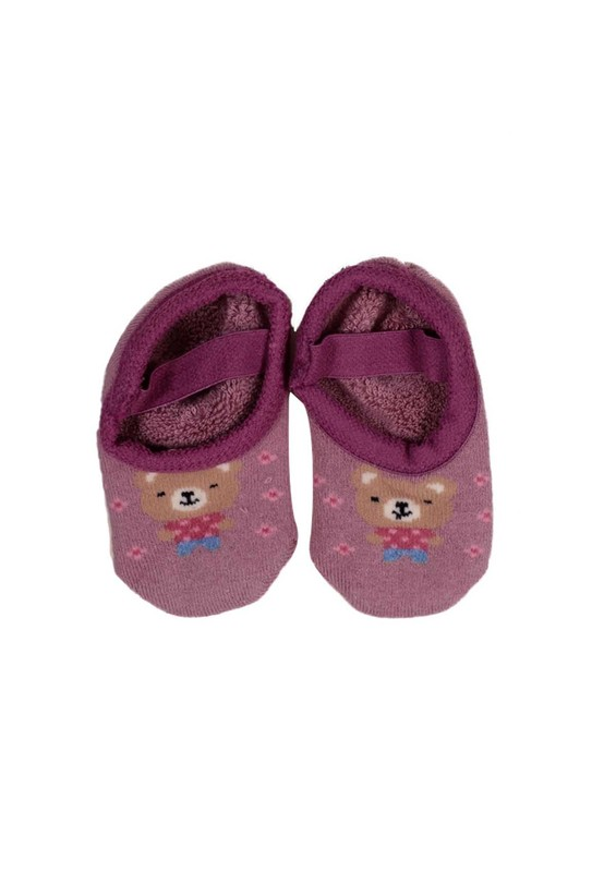 KATAMİNO - Katamino Havlu Patik Çorap 83021 | Mürdüm