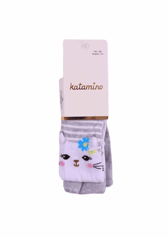 KATAMİNO - Katamino Külotlu Çorap 5404 | Gri