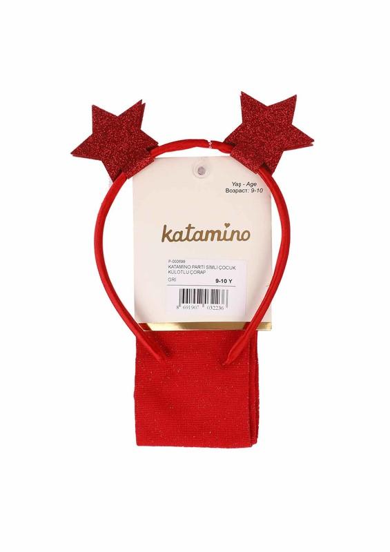 KATAMİNO - Katamino Külotlu Çorap 5405 | Kırmızı