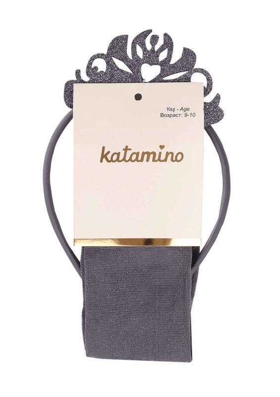 KATAMİNO - Katamino Külotlu Çorap 5407 | Gri
