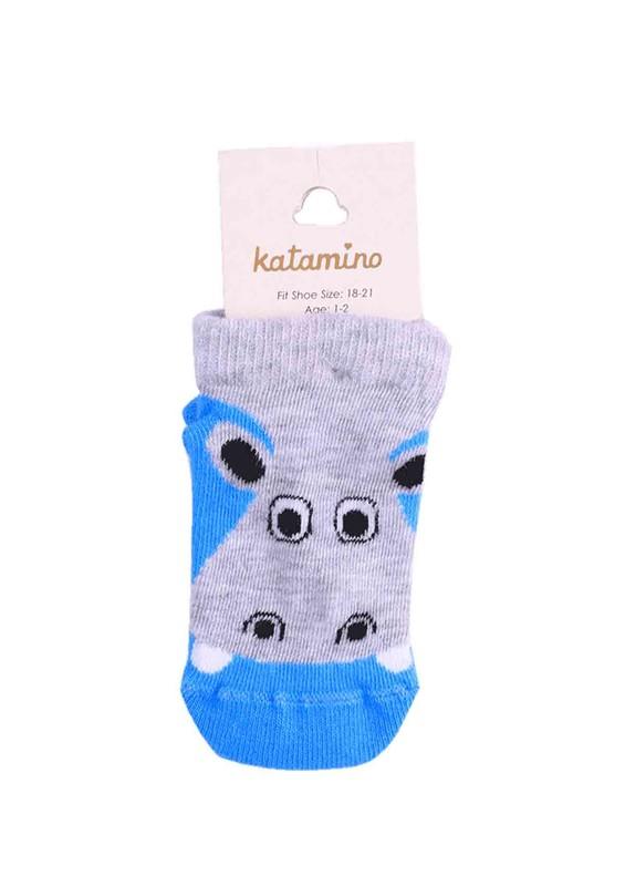 KATAMİNO - Katamino Patik Çorap 20051 | Mavi