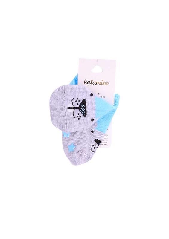 KATAMİNO - Katamino Patik Çorap 20058 | Turkuaz