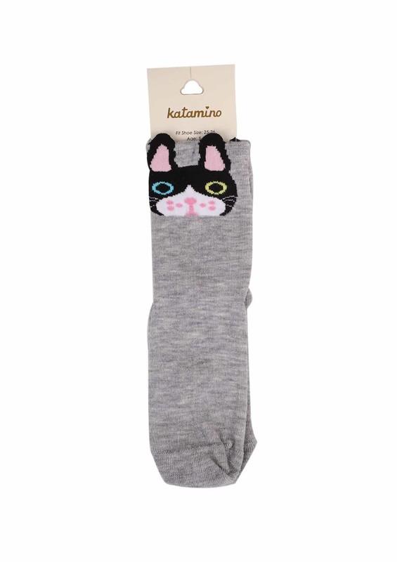 KATAMİNO - Katamino Soket Çorap 5402 | Gri