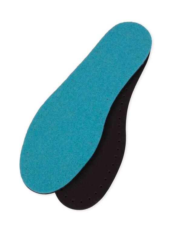 SİMİSSO - Keçe Renkli Patiklik Taban | Mavi