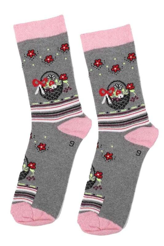 ARC - Arc Kids Kız Çocuk Çorap | Gri