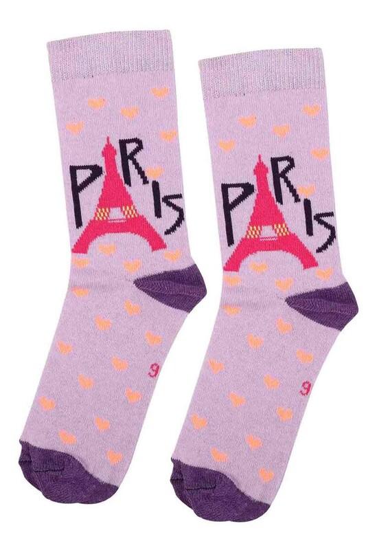 ARC - Arc Kids Kız Çocuk Çorap 003 | Lila