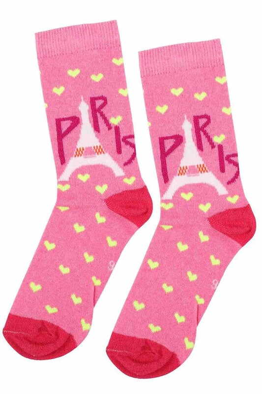 ARC - Arc Kids Kız Çocuk Çorap 003 | Pembe