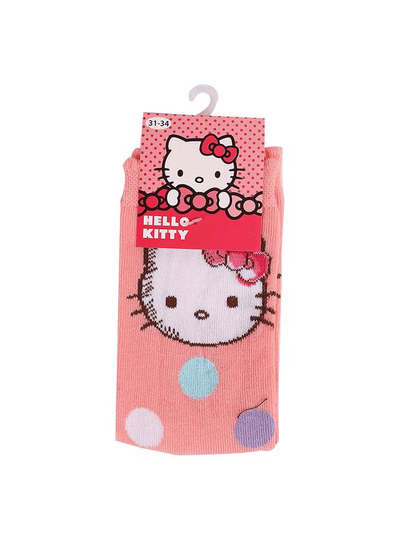 HELLO KITTY - Hello Kitty Soket Çorap 12413 | Pembe