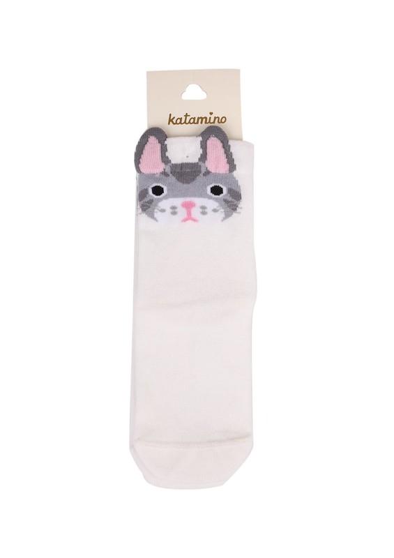 KATAMİNO - Katamino Soket Çorap 5402 | Krem