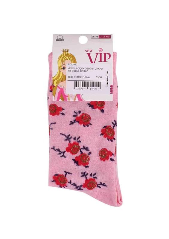 SİMİSSO - New Vip Likralı Çorap 935 | Pudra