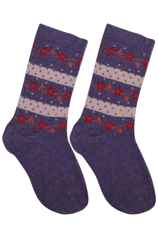 ÜÇ-EL - Kız Çocuk Çorap 57 | Lila