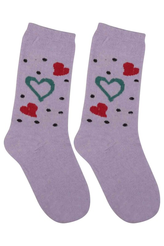 ÜÇ-EL - Kız Çocuk Çorap 59 | Lila
