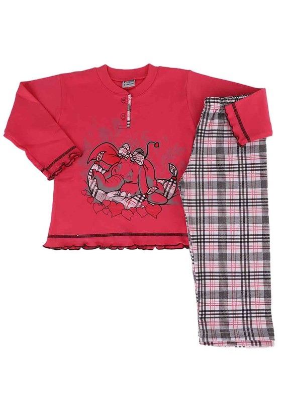SİMİSSO - Simisso Pijama Takımı 021 | Pembe