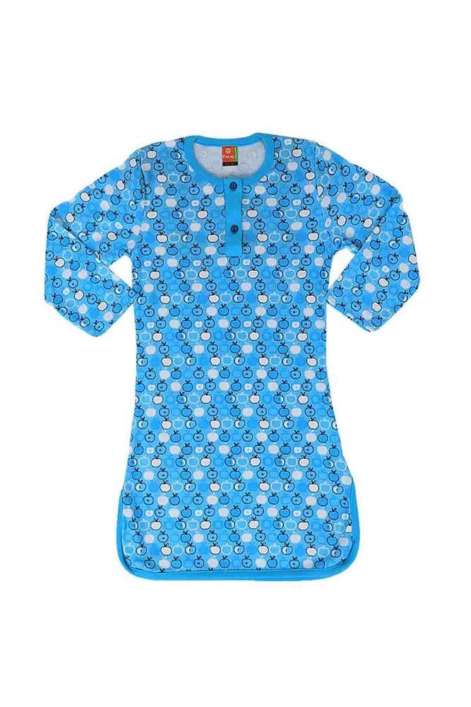 Simisso Penye Gecelik 407   Mavi