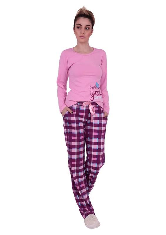 AYDOĞAN - Комплект пижамы AYDOĞAN в клетку 4556/розовый