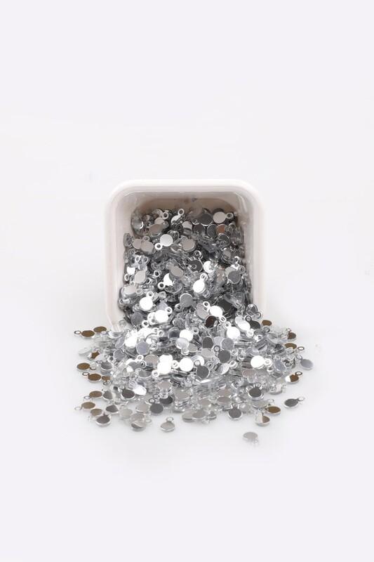 PULSAN - Круглые пайетки Pulsan 20гр./055 серебряный