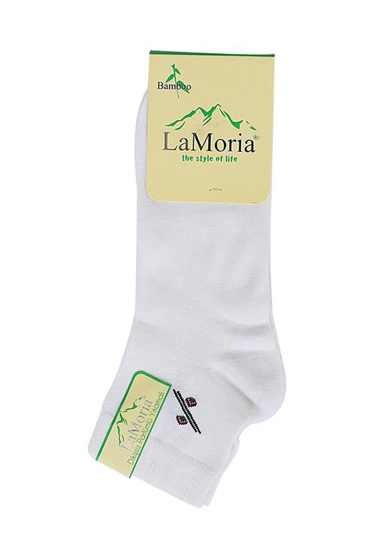 LA MORİA - La Moria Bambu Çorap 049 | Beyaz