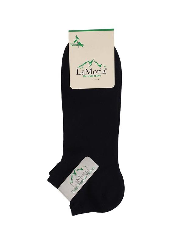 LA MORİA - La Moria Bambu Soket Çorap 412   Siyah