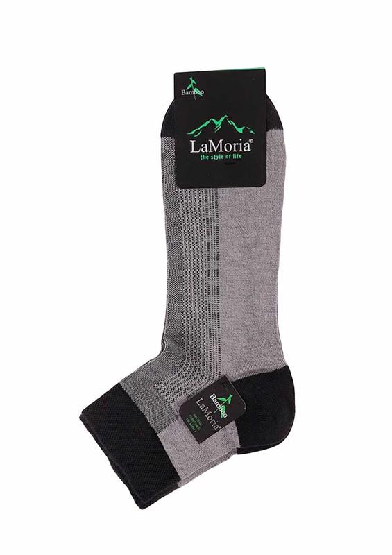 LA MORİA - La Moria Dikişsiz Çorap 33312 | Gri