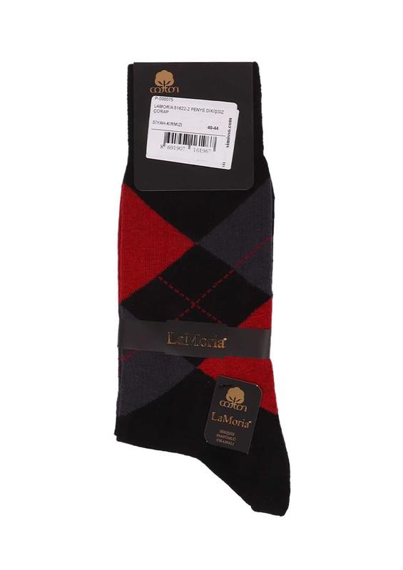 LA MORİA - La Moria Dikişsiz Çorap 51625   Kırmızı