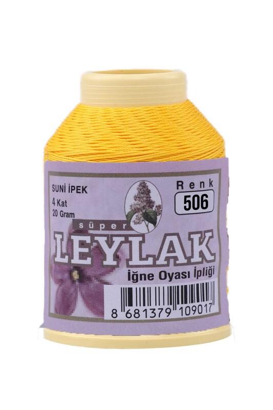 LEYLAK - Leylak Suni İpek Oya İpi 506