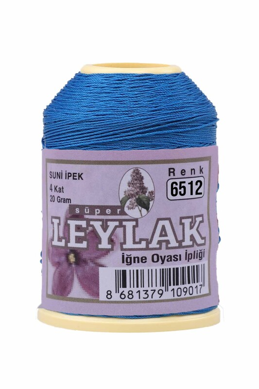 LEYLAK - Leylak Suni İpek Oya İpi 6512