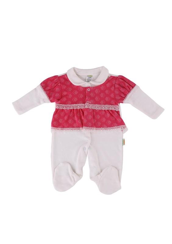 LİNDO - Lindo Bebek Tulumu 7075 | Pembe