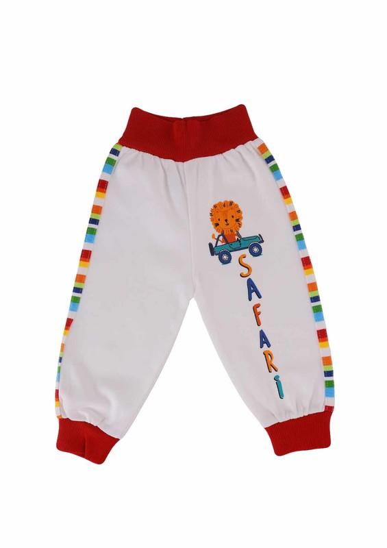 MANCAR - Mancar Bebek Pantolonu 1026   Kırmızı