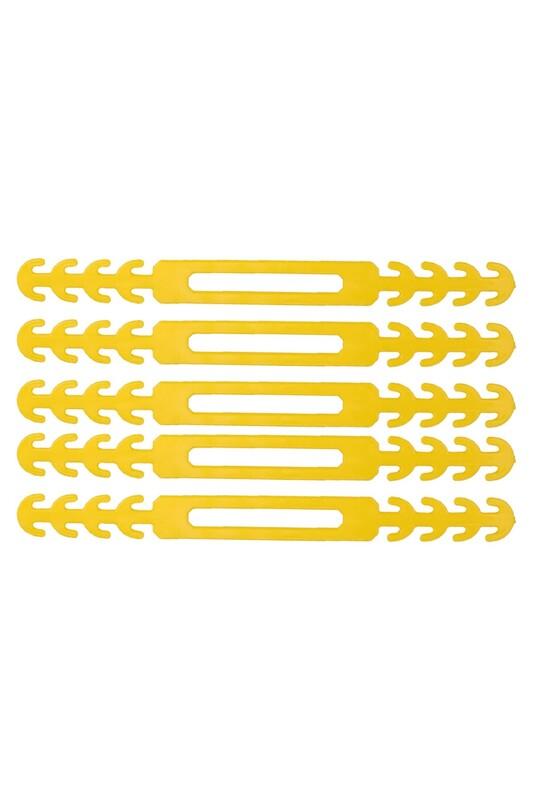 SİMİSSO - Maske Takma Aparatı 5'li   Sarı