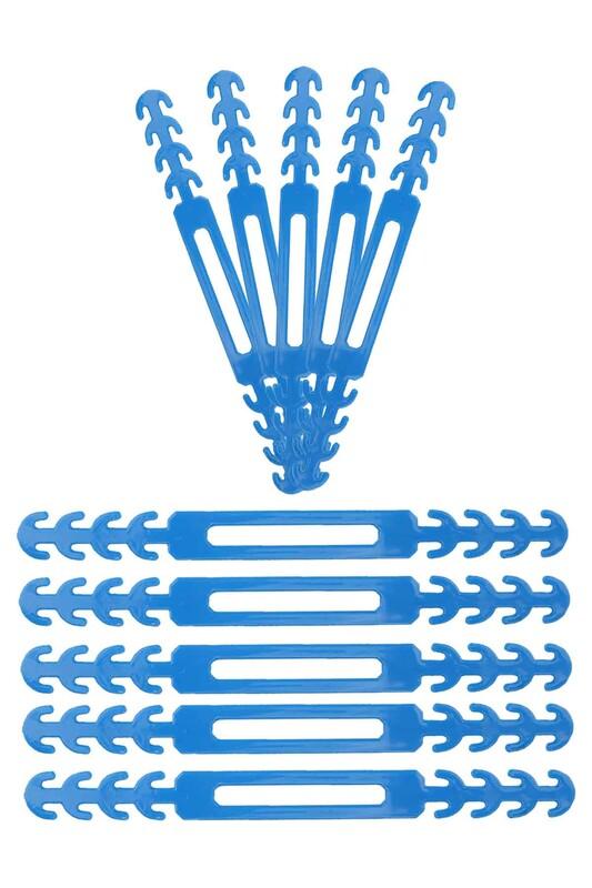SİMİSSO - Maske Takma Aparatı 10'lu   Mavi