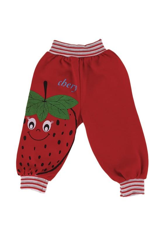 MİLLİON - Million Bebek Pantolonu 1832   Kırmızı