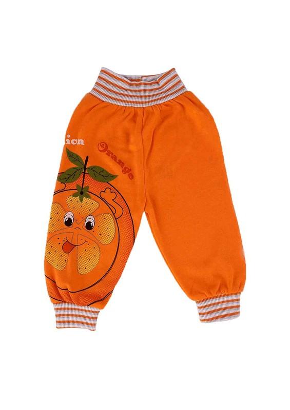 MİLLİON - Million Bebek Pantolonu 1832   Turuncu