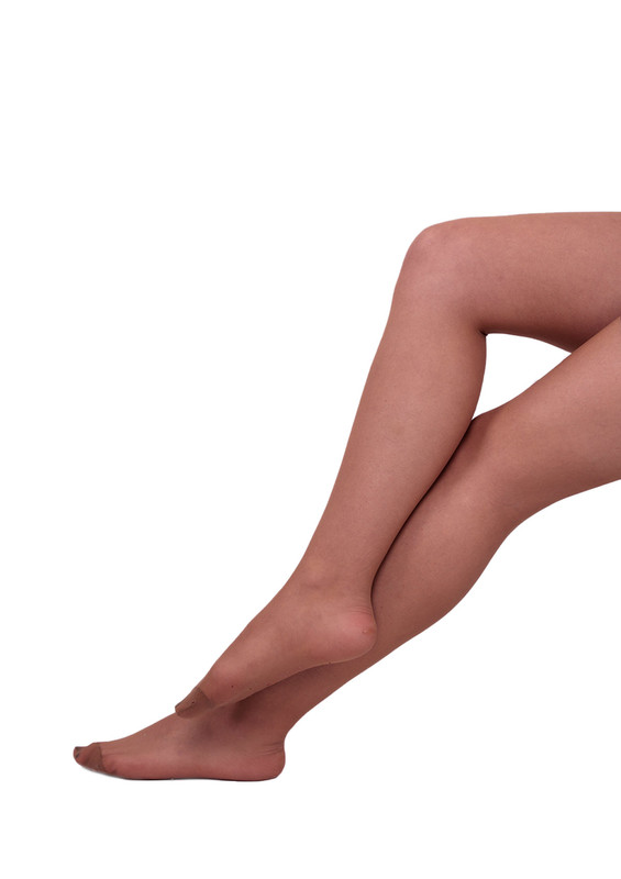 MÜJDE - Müjde İnce Mat Külotlu Çorap 005   Bronz