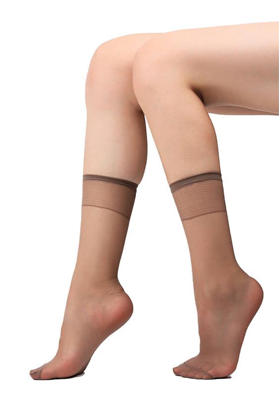 MÜJDE - Müjde Soket Çorap 007 | Vizon