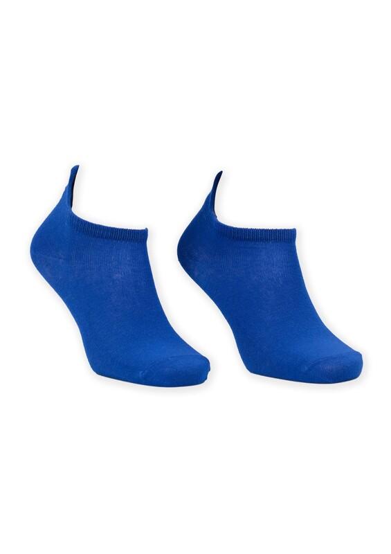 SİMİSSO - Nakış Desenli Kadın Soket Çorap | Saks
