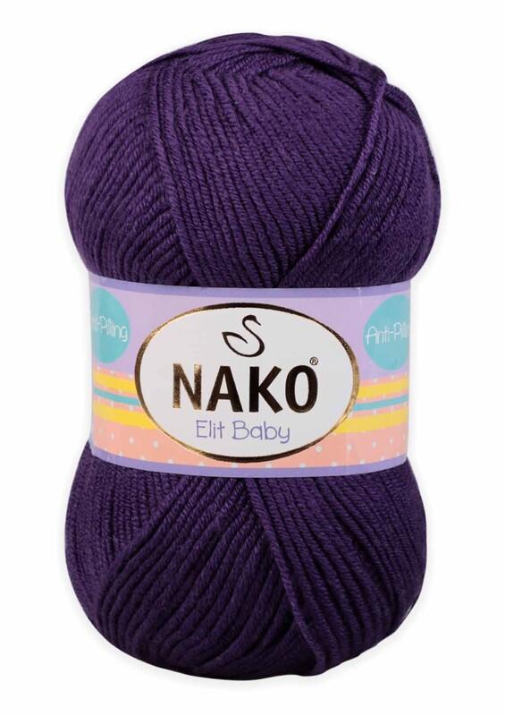 NAKO - Nako Elit Baby El Örgü İpi 100 gr | 10253