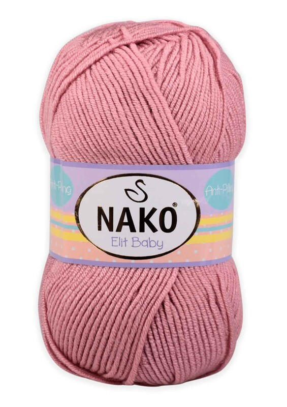 NAKO - Nako Elit Baby El Örgü İpi 100 gr | 10325