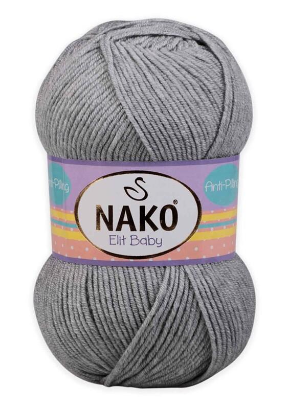 NAKO - Nako Elit Baby El Örgü İpi 100 gr | 195