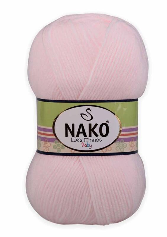 NAKO - Nako Lüks Minnoş El Örgü İpi 100 gr | 4531