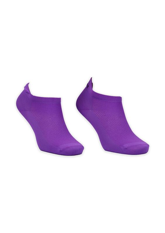 GÜLÇEK - Neon Renkli Kadın Çorap | Mor