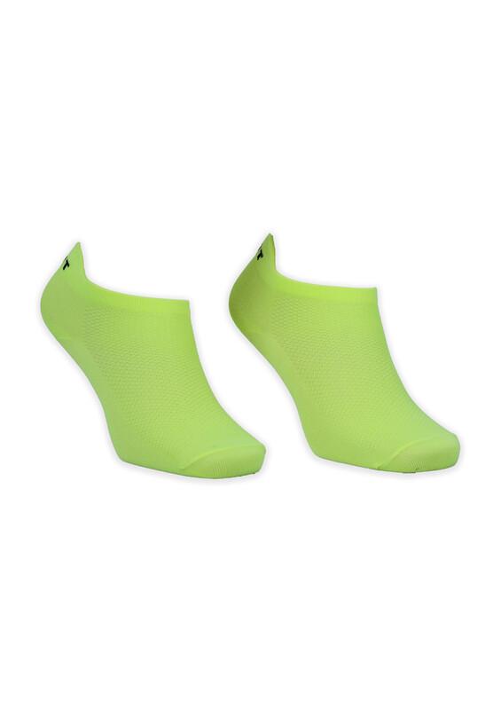 GÜLÇEK - Neon Renkli Kadın Çorap | Sarı